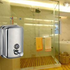 2018 Stainless Steel Wall Mounted Soap Dispenser Body/Hand/Hair Wash Dispenser