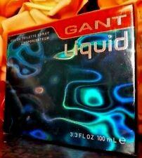 ❤️GANT LIQUID EAU DE TOILETTE 100 ml.,3.4 OZ,SEALED!!!