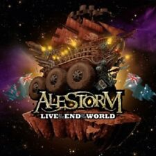 ALESTORM - LIVE-AT THE END OF THE WORLD  (CD + DVD)  HARD & HEAVY/METAL  NEW!