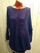 Part Two Long Sleeve Blue medium mohair , polyamid , wool