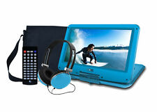 "Ematic 12.1"" Portable DVD Player With Travel Bag And Headphones BLUE SHIPS"