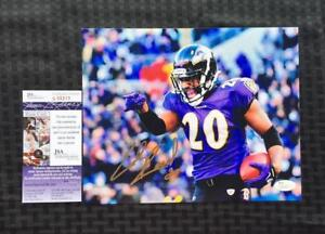 Ed Reed Autographed Baltimore Ravens Photo