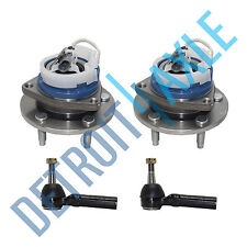 Set of 2 NEW Front Wheel Hub and Bearing Assembly w/ ABS + 2 Outer Rod Ends
