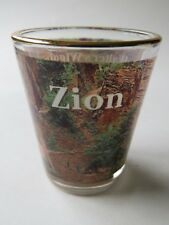 Liquor Shot Glass ~ ZION National Park in Utah: Walter's Wiggles to Angel's Hike