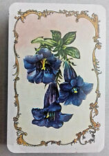 VINTAGE PLAYING CARDS SEALED PIATNIK AUSTRIA MULTIPLE FLOWERS DESIGN 52 & 2 J