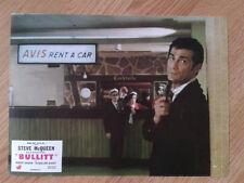 STEVE McQUEEN: BULLITT scarce vintage 1968 French lobby card #11 Jackie Bisset