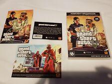 Grand Theft Auto V Russian PS3 Pre-Order Pack - $$ RARE GRAND THEFT AUTO V $$