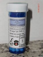Large Cat Tapeworm Dewormer - 5 to 30 Capsules (doses)  You choose quantity!