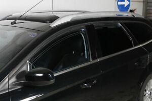Farbausf/ührung Tuning-Pro Climair Windabweiser hinten 04-4548 schwarz