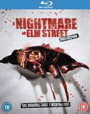 Nightmare On Elm Street 1-7 Bluray New Fast FREE Delivery Perfect For Halloween!