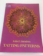 Tatting Patterns - A Dover Needlecraft Publication
