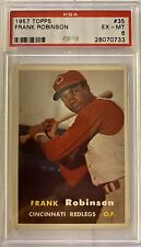 1957 Topps Frank Robinson ROOKIE RC #35 PSA 6 EX - MT Baltimore Orioles ROOKIE!