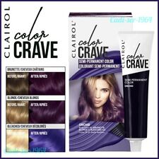 NEW Clairol COLOR CRAVE Semi Permanent Hair Colour 60ml in ORCHID PURPLE