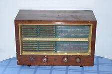 Large Vintage Westinghouse International Wood Cabinet TUBE RADIO
