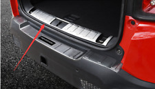 For Jeep Renegade 2015-2018 Stainless Steel Rear Bumper Sill Plate Trim Cover