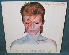 David Bowie Aladdin Sane LP RCA LSP-4852 Original 1973 NZ New Zealand