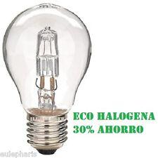 Bombilla Ahorradora Estandar E27 ECO-HALOGENA 28w=37w, 40w, Bajo Consumo -30%