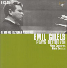 Emil Gilels - Plays Beethoven - Historical Russian Archives (6 CDs-Box) Klassik
