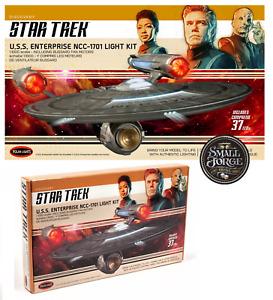 Star Trek: Discovery U.S.S. Enterprise NCC-1701 Model + Light Kit 1:1000 NEW