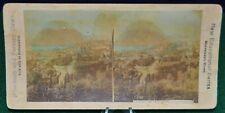 Antique Stereoview Card - Laigano, Mt. Salvatore