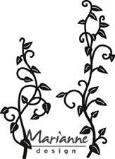 Marianne Design CRAFTABLES Corte Y Grabación En Relieve Plantilla VIÑAS CR1396
