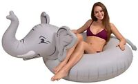 GoFloats Elephant Pool Float Party Tube - Inflatable Rafts for Adults amp Kids