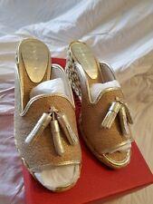 c076ba6f79e Donald J Pliner size 6.5 Charo Womens Special Occasion Platform Sandals  (bx2)
