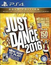 Just Dance 2016: Gold Edition (Sony PlayStation 4, 2015)