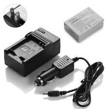 NB-10L Battery for CANON PowerShot SX60 SX50 SX40 HS G15 G16 Camera + Charger