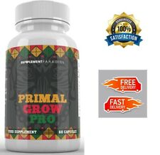 PRIMAL GROW PRO MALE ENHANCEMENT 60 CAPSULES - FREE & FAST DELIVERY