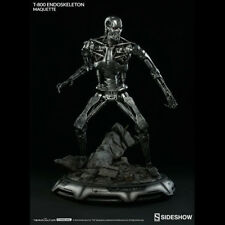 SIDESHOW The Terminator T-800 Endoskeleton Maquette Statue Figure NEW