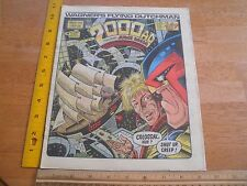 2000 Ad 1986 Judge Dredd #459 comic British magazine Wagner's Flying Dutchman