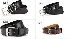 NEU Überlänge Herren Gürtel schwarz oder braun 4 Modelle140,145,150,155,160,165