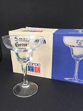 6x José Cuervo Tequila Margarita bicchieri di vetro guscio cocktail decorazione bar nuovo OVP