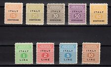 SICILIA Occupazione Anglo Americana 1943 Emissione AMP MNH**