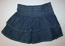 Siguiente Nuevo UK Azul Chambray capas falda Volante Talla 4 años 104cm