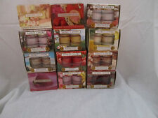 Yankee Candle One Box of 12 SCENTED TEA LIGHT CANDLES U Pick Scent You Want
