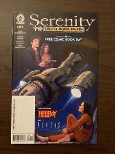 Serenity: Firefly Class of F.C.B.D. High Grade Dark Horse Comic CL44-10
