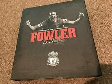 ROBBIE FOWLER LIVERPOOL FC BOX SET - HAND SIGNED 2017/2018 SHIRT