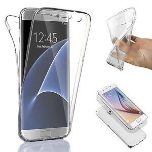 COVER FRONTE RETRO TPU PROTEZIONE 360° Per Samsung Galaxy S7 / EDGE