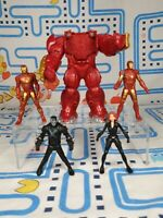 Marvel Miniverse Hasbro Figure Toy bundle 5x figures inc hulk buster ironman