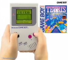 GameBoy - Konsole #grau Classic 1989 DMG-01 + Tetris