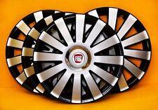 """FIAT PUNTO... Set di 4 x 14"""" LOOK IN LEGA PER AUTO Copricerchi/copre 14 pollici coprimozzi"""