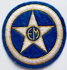Insigne Patch Ecusson ancien FOOTBALL EM ETOILE de MONTETY 1950 TOULON ORIGINAL