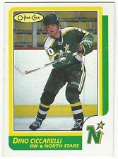 1986-87 OPC HOCKEY #138 DINO CICCARELLI - EXCELLENT-