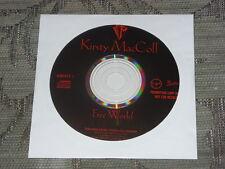 Kirsty MacColl:  Free World   CD Single one track promo  NM