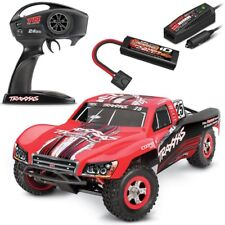 Traxxas Slash 1/16 4x4 Short Course RTR RC Truck MARK JENKINS w/Batt & Charger