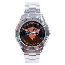 New York Knicks NBA Stainless Steel Analogue Men's Watch Gift