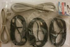 Lot de 5 cables 1m USB Modèle A/B Pour Imprimantes
