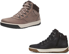 Men's ECCO Byway Tred Gore-Tex Waterproof Lace & Zipper, Black or Taupe Hi-top